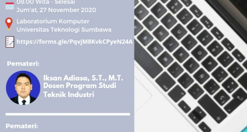 Pelatihan microsoft word Program Studi Teknik Industri