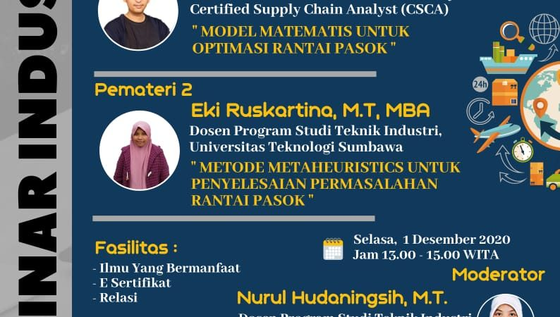 "| "" Model Optimasi Untuk Supply Chain Management"" 